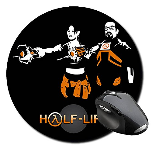 half-life-2-gordon-freeman-chell-from-portal-alfombrilla-redonda-round-mousepad-pc