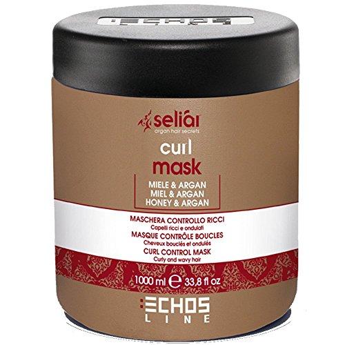 Seliar® Masque contrôle boucles au miel et à l'huile d'Argan 1000ml