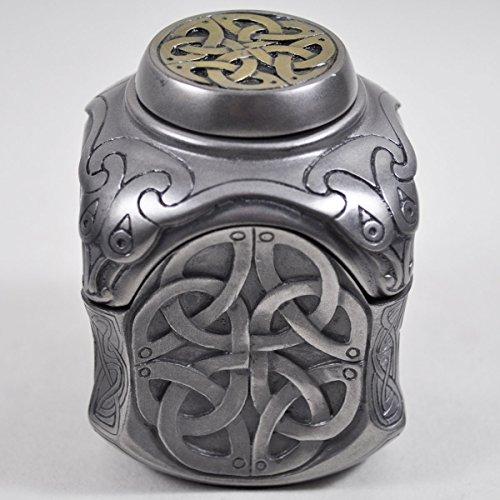 Style celtique-Yin Yang-Boîte de rangement-Bronze - 8 cm