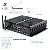 hystou fmp04b fanless TV Box PC, mini PC Ordinateur de bureau avec Intel Core 2955U 1,4 GHz 300 m wifi NO RAM & SSD/HDD