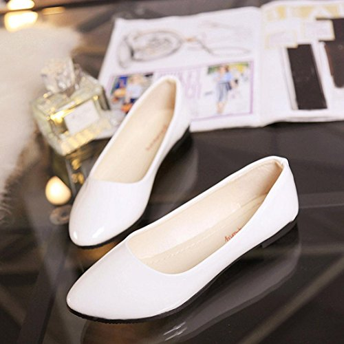 Bovake Bout Ouvert Femme Blanc