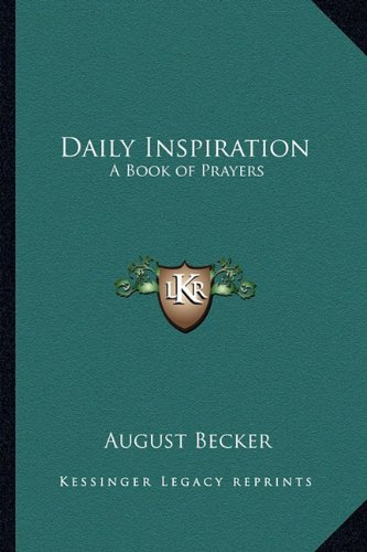 Daily Inspiration: A Book of Prayers
