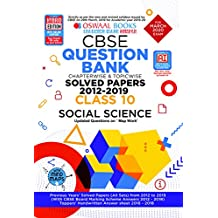 Oswaal CBSE Question Bank Class 10 Social Science Chapterwise & Topicwise (For March 2020 Exam)