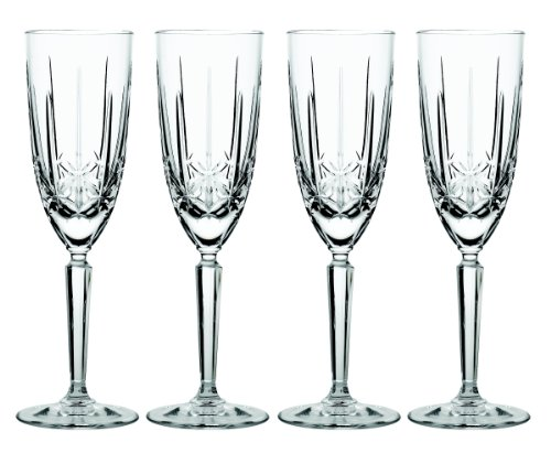 Marquis Sparkle Flute 8 Ounce Set of 4 Waterford Wedgwood