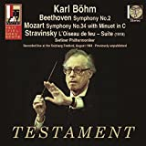 Beethoven, Mozart, Stravinsky