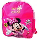Mochila infantil escolar con motivo de Minnie Mouse 32 x 26 x 12 cm – Disney B13021 mws2066