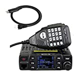 Retevis RT95 Mobile Two Way Radio 25W/10W/5W UHF/VHF 200 Channels CTCSS/DCS DTMF 5Tone