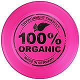 New Games - Frisbeesport Eurodisc 100g, 23cm, Kinder Frisbee aus Bio-Kunststoff ab 5 Jahre und Ultimate ab Klasse 3 Pink