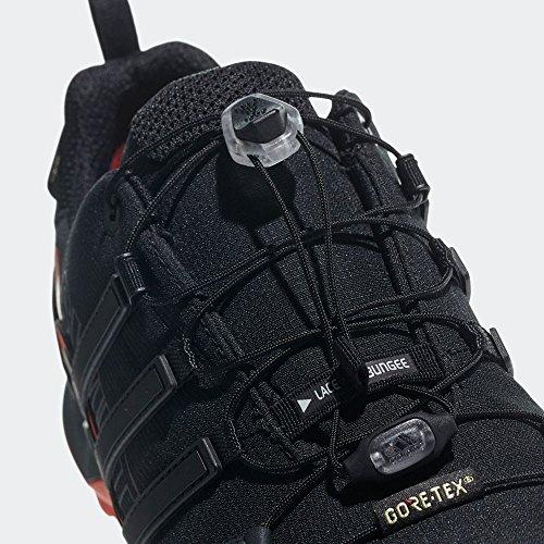 adidas Terrex Swift R2 GTX, Scape per Sport Outdoor Uomo Nero (Core Black/core Black/hi-res Red)