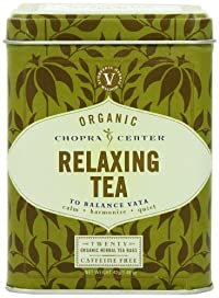 Chopra Center Organic Herbal Tea, Relaxing, 20 Tea Bags