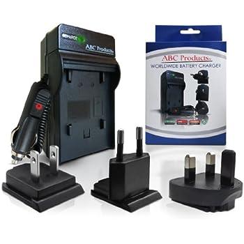 Battery Charger for Olympus Li-40b / Li-42b / Li-40C / Li-41C suits Select Mju / Stylus / Tough Digital Camera (Models Stated Below) World Travel Plug Version - UK/USA/Europe+