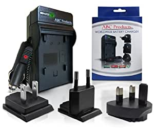 ABC Products® Remplacement Sony NP-BN1 / N Type / BC-CSN Batterie / Pile Chargeur (Monde EU/UK/USA+) pour sélectionner Cybershot Appareil Photo Numérique (modèles indiqués ci-dessous)
