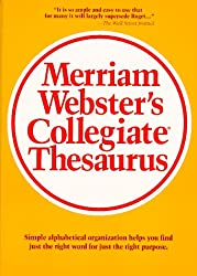 MERRIAM-WEBSTER'S COLLEGIATE THESAURUS INDEX