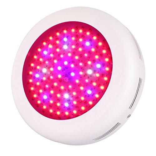 Roleadro UFO LED Lampe Horticole 270W,Led Plante Lampe Culture de Croissance pour Plante Verte dans Chambre de Culture ave IR UV Lumière