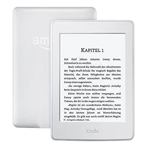 Kindle Paperwhite eReader, 15 cm (6 Zoll) hochauflösendes Display (300