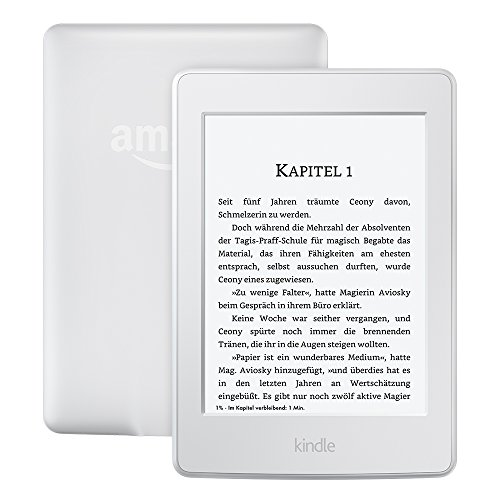Kindle Paperwhite (Vorgängermodell – 7. Generation), 6Zoll (15cm) großes Display, integrierte Beleuchtung, WLAN