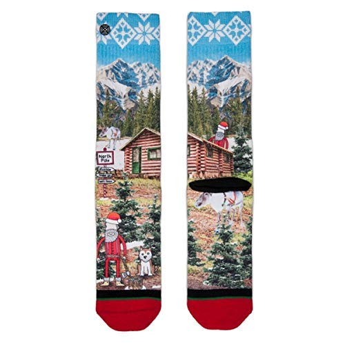XPOOOS xpoos Chaussettes pour homme multicolore - Noël Luke 2738aa58246