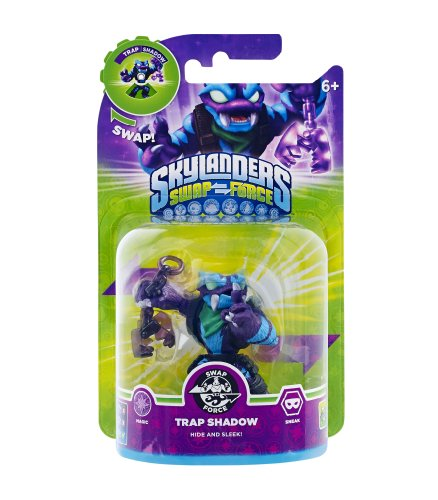 Skylanders Swap Force - Single Character - Swap Force - Trap Shadow (Skylanders Team Swap)