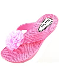 Absolute Footwear Sandali Bambine, Rosa (Pink), 38
