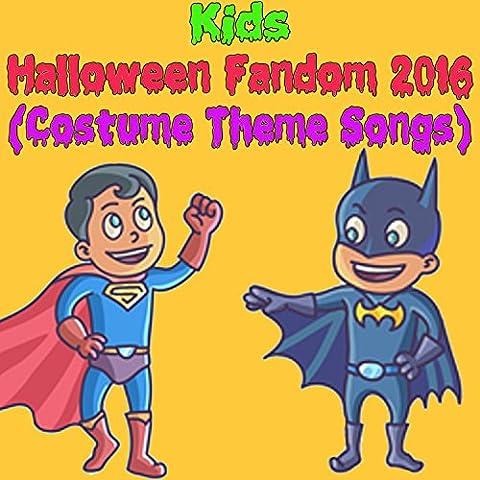 2016 Costumes À Thème Halloween - Kids Halloween Fandom 2016 (Costume Theme