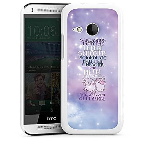 HTC One mini 2 Hülle Case Handyhülle Einhorn Unicorn Sprüche