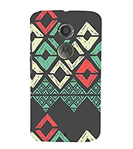 Motorola Moto X2 :: Motorola Moto X (2nd Gen) abstract geometric background, geometric Designer Printed High Quality Smooth hard plastic Protective Mobile Case Back Pouch Cover by Paresha