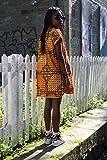 robe africaine/robe d'été/robe ankara/robe à imprimé africain/robe chemise/robe festival/vêtements africains