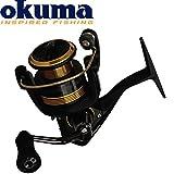 Okuma Custom Spin CSP-30 - Angelrolle für Barsch, Zander & Forelle, Stationärrolle zum Spinnfischen, Spinnrolle zum Spinnangeln