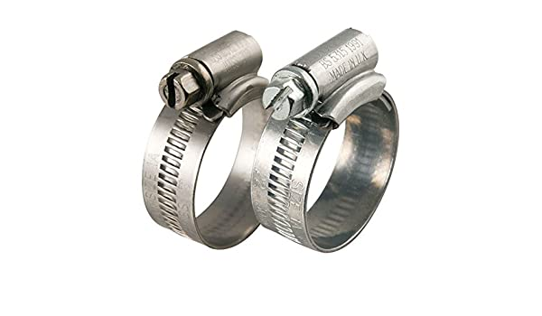 4 x 70mm AutoSiliconeHoses 90mm W4 Stainless Steel Hose Clips