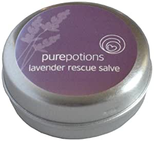 Pure Potions Lavender Rescue Salve - Suitable For Use on Burns, Scalds, Sunburns Inflamed Skin 15ml
