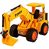 Power Remote Controlled Battery Operated Jcb Truck Toy