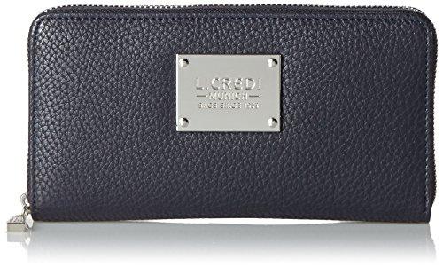 L.Credi Damen Maxima Geldbörse, Blau (Marine), One Size