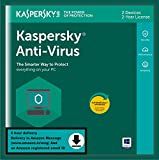 #6: Kaspersky Antivirus 2 Users, 2 Years (Single Key) (Email Delivery in 2 Hours - No CD)