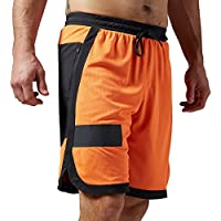 Reebok pantaloncini da uomo One Series Speed Wick Mesh Knit, Uomo, One Series Speedwick Mesh Knit Shorts, Elechtric Peach, XS