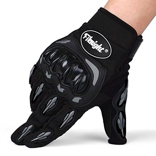 Cido Fahrrad Handschuhe, Outdoor Handschuhe, Motorrad Handschuhe ,Vollfinger Handschuhe mit verstellbarem Klettverschluss für Herren
