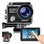 51VXQCFURcL. SS150 Campark Action Cam 4K HD 20MP WiFi LCD Touch Screen Subacquea 40M con Telecomando EIS Stabilizzazione Videocamera 170…