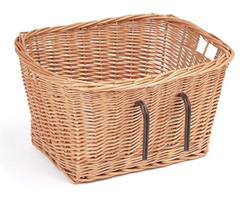 Tigana - Fahrradkorb aus Weide für Lenker 45 cm eckig