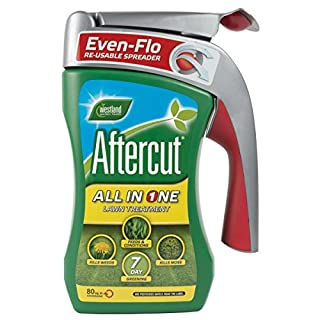 Aftercut All-in-One Lawn Treatment with Even Flo Spreader 80m2