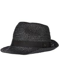 Emporio Armani sombrero gorro de hombre nuevo negro