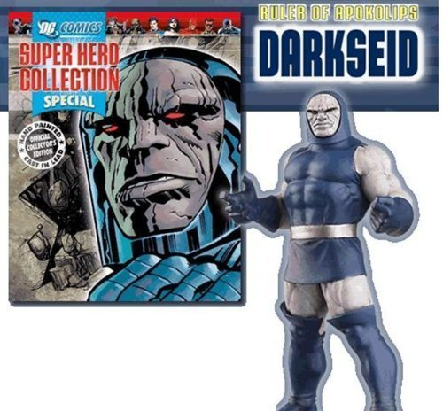 Special Edition - Darkseid Lead Figure & Magazine by Eaglemoss Publications