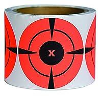 moq: 1lot (1lot = 250pcs) 7,6cm rond adhésif cible dots | 250fluorescent rouge cible pasteurs-Peel et du bâton-sur rouleau pour un transport facile-Adhère à la plupart tout. Excellent pour le tir cible pratique pour de vrai fusils, pistole...