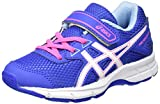 Asics Pre Galaxy 9 PS, Chaussures de Running Mixte Enfant, Bleu (Blue Purple/White/Air Y Blue), 31.5 EU