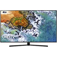 Samsung UE43NU7400 43-Inch Dynamic Crystal Colour 4K Ultra HD Certified HDR Smart TV - Charcoal Black (2018 Model) [Energy Class A]