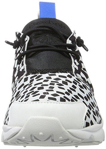 Reebok - Furylite Contempora, Sneaker Donna Bianco/Nero