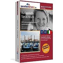 Italienisch-Basiskurs mit Langzeitgedächtnis-Lernmethode von Sprachenlernen24.de: Lernstufen A1 + A2. Italienisch lernen für Anfänger. Sprachkurs PC CD-ROM für Windows 8,7,Vista,XP / Linux / Mac OS X