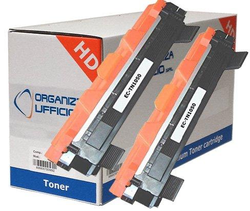Organizza Ufficio Kit 2 Toner Compatibili con HL-1110, TN-1050