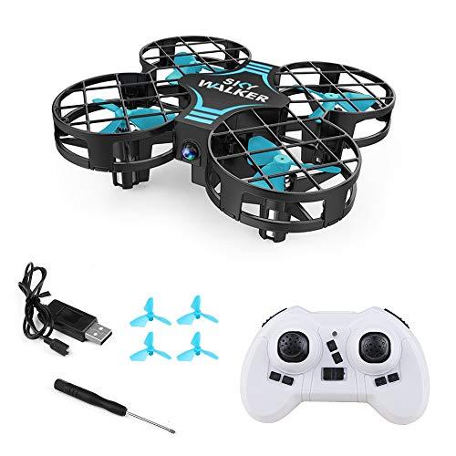 Vegena Mini Drohne, RC Quadrocopter Drone Helikopter Automatischer Höhehaltung, 3D 360° Wendung, EIN-Tasten-Rückkehr Start Landung, Kopflosem Modus Ferngesteuerter Hubschrauber für Kinder Anfänger