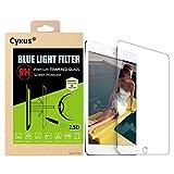 Cyxus filtro de luz azul pantalla bloqueo uv [mejor sueño] 9H protector de pantalla de vidrio temperado para apple iPad 1/2/3/4(9,7 pulgada)