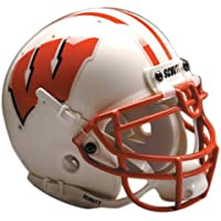 NCAA Wisconsin Collectible Mini Football Helmet by Schutt