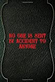 No One Is Sent By Accident To Anyone: Casino Notebook Journal Composition Blank Lined...